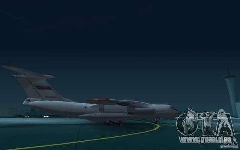 IL 78 Tanker für GTA San Andreas Rückansicht