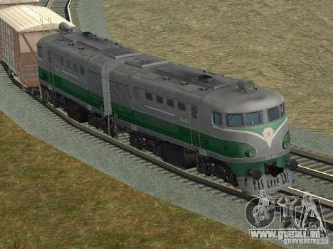 TE2-414 pour GTA San Andreas vue de côté
