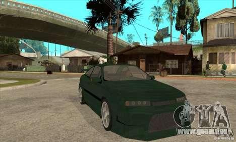 Opel Calibra pour GTA San Andreas vue arrière
