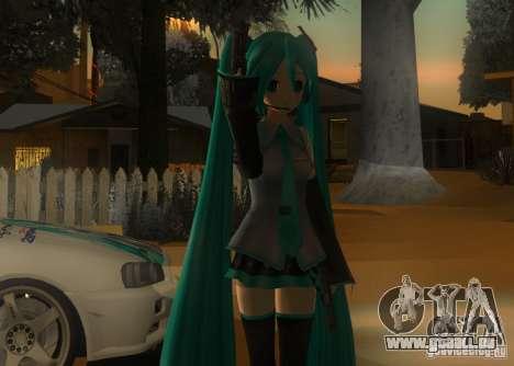 Anime Characters für GTA San Andreas dritten Screenshot