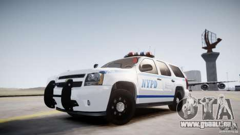 Chevrolet Tahoe 2012 NYPD pour GTA 4