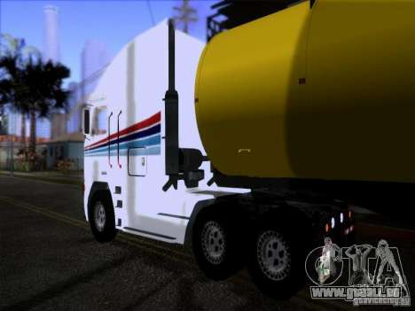 Freightliner Argosy Skin 3 pour GTA San Andreas vue de droite
