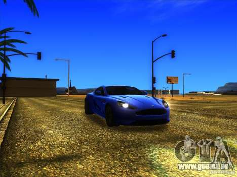 Aston Martin Virage 2011 Final für GTA San Andreas