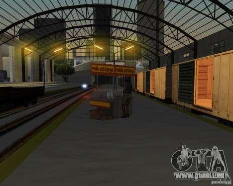 Nouvelle station de chemin de fer pour GTA San Andreas huitième écran