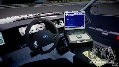 Ford Crown Victoria Karachi Traffic Police für GTA 4 rechte Ansicht