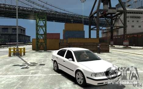 Skoda Octavia v.1.0 für GTA 4 Unteransicht