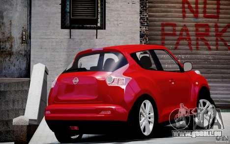 Nissan Juke für GTA 4 linke Ansicht