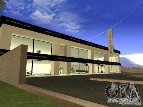 [HD] réseau de Garages MyGame Autos pour GTA San Andreas deuxième écran
