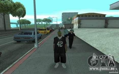Neue Skins Los Santos Vagos für GTA San Andreas