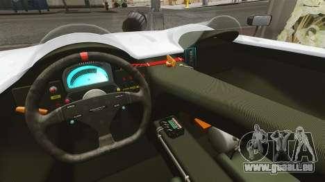 Audi R8 Spider Body Kit Final pour GTA 4 Vue arrière