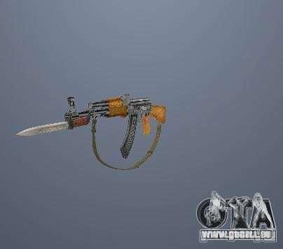 Pak hautes armes polygonales pour GTA San Andreas
