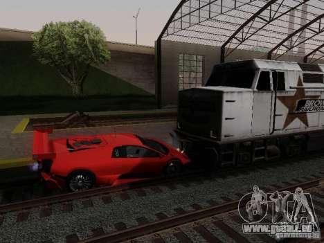 Crazy Trains MOD pour GTA San Andreas troisième écran