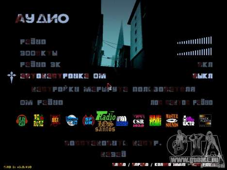 Texte sanglante pour GTA San Andreas deuxième écran
