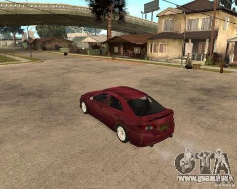 Mazda 6 Sport pour GTA San Andreas vue de droite