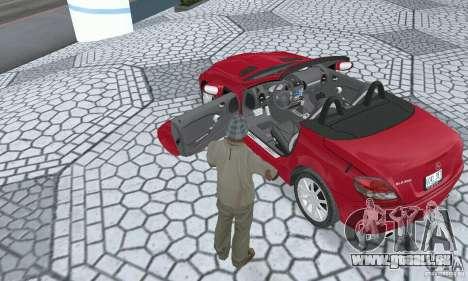 Mercedes-Benz SLK 350 für GTA San Andreas Rückansicht