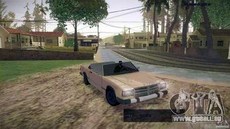 Feltzer HD pour GTA San Andreas laissé vue