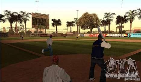 Terrain de Baseball animées pour GTA San Andreas