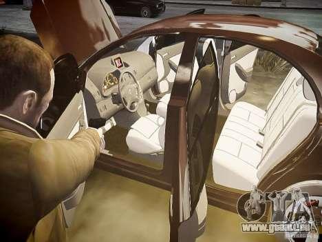Toyota Avensis pour GTA 4 roues