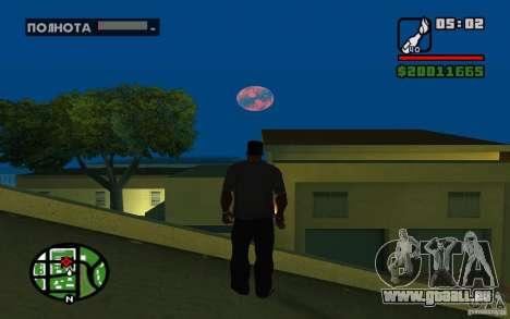 Nibiru-planète X pour GTA San Andreas troisième écran