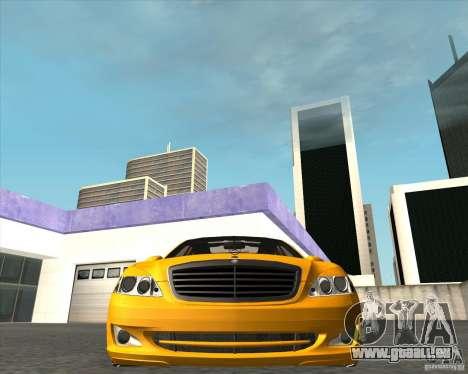 Mercedes Benz S600 Panorama by ALM6RFY pour GTA San Andreas vue de droite