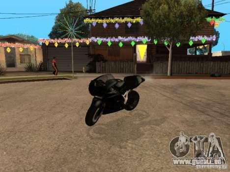 Ducati RS09 pour GTA San Andreas laissé vue
