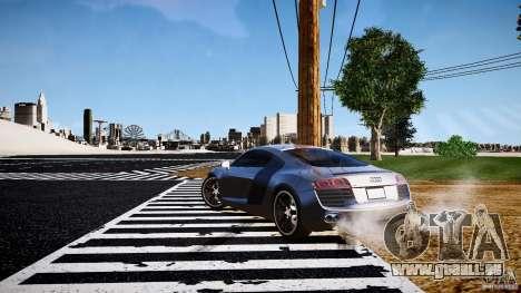 Audi R8 2008 für GTA 4 rechte Ansicht