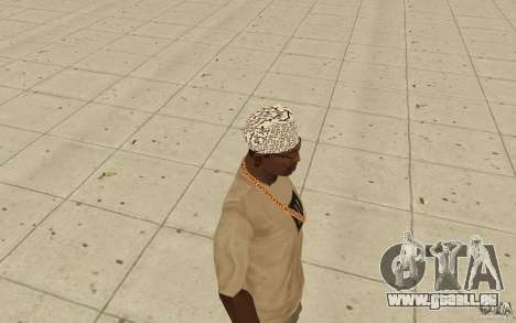 Bandana shamal pour GTA San Andreas deuxième écran