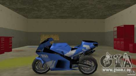Yamaha YZF R1 für GTA Vice City linke Ansicht