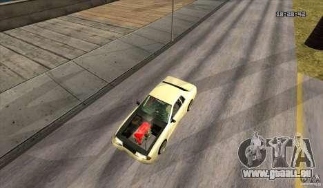 Elegy Drift Style pour GTA San Andreas vue de droite