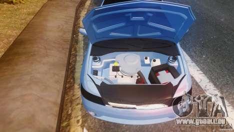 Renault Clio Tuning pour GTA 4 Vue arrière