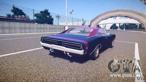 Dodge Charger RT 1969 v1.0 pour GTA 4 est un côté