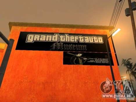 GTA Museum pour GTA San Andreas deuxième écran