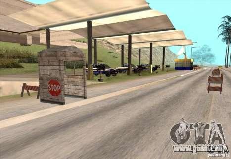 Polizeiposten 2 für GTA San Andreas zweiten Screenshot