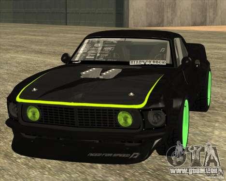 Ford Mustang RTR-X 1969 pour GTA San Andreas laissé vue