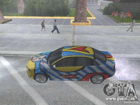 Audi RS 4 pour GTA San Andreas vue de droite