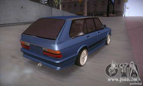 BMW E28 Touring pour GTA San Andreas vue arrière