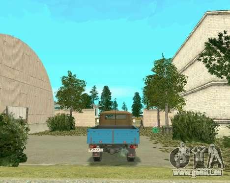 UAZ 3303 für GTA San Andreas zurück linke Ansicht