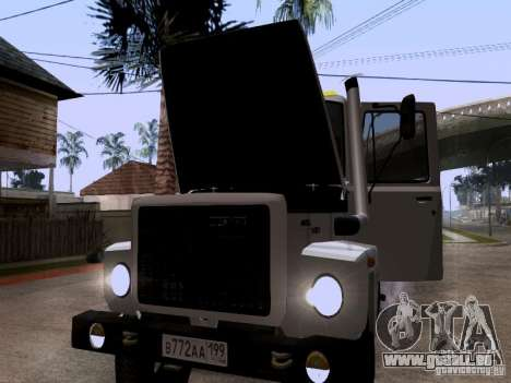 GAZ 3309 Abschleppwagen für GTA San Andreas Seitenansicht