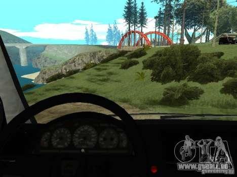 GAZ 2217 FSB für GTA San Andreas Rückansicht