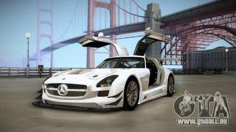 Mercedes-Benz SLS AMG GT3 für GTA San Andreas