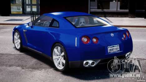 Nissan Skyline GT-R R35 für GTA 4 hinten links Ansicht
