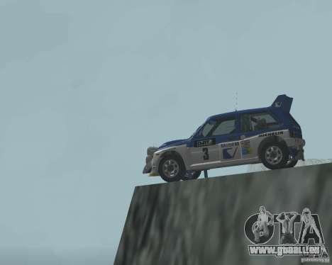 MG Metro 6M4 Group B pour GTA San Andreas vue de côté