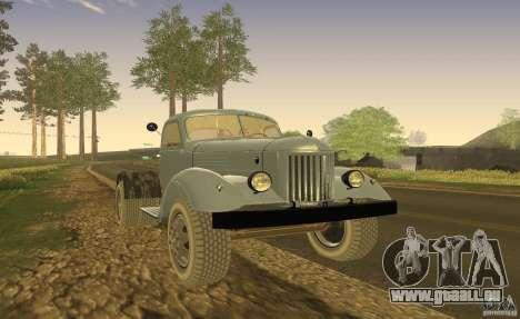 ZIL 164 tracteur pour GTA San Andreas laissé vue