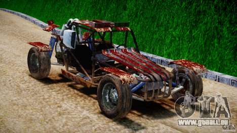Buggy Avenger v1.2 pour GTA 4 Vue arrière