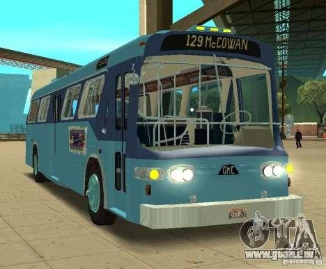 GMC Fishbowl City Bus 1976 für GTA San Andreas linke Ansicht