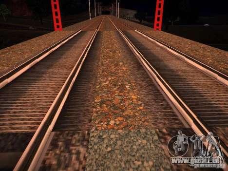 Nouveaux Rails pour GTA San Andreas quatrième écran