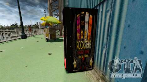 Rockstar Energydrink» für GTA 4 Sekunden Bildschirm
