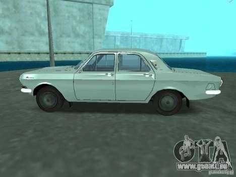 GAZ 24p pour GTA San Andreas laissé vue