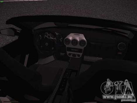 Ferrari F430 Scuderia M16 pour GTA San Andreas vue intérieure