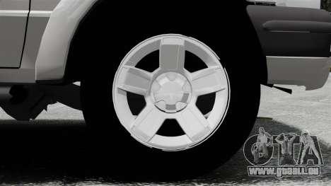 Ford Ranger 2008 XLR pour GTA 4 Vue arrière